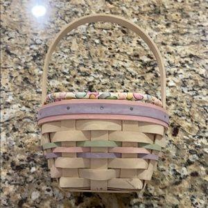 Longaberger 2000 Small Easter Basket